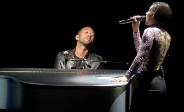 john legend, alicia keys, actus rnb, grammys