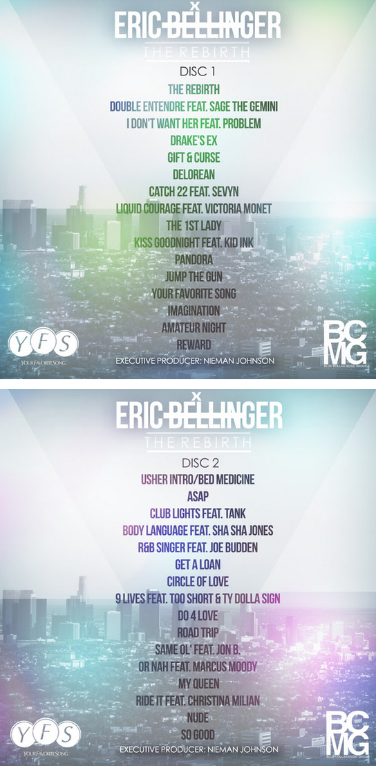 eric bellinger, the rebirth, actus rnb